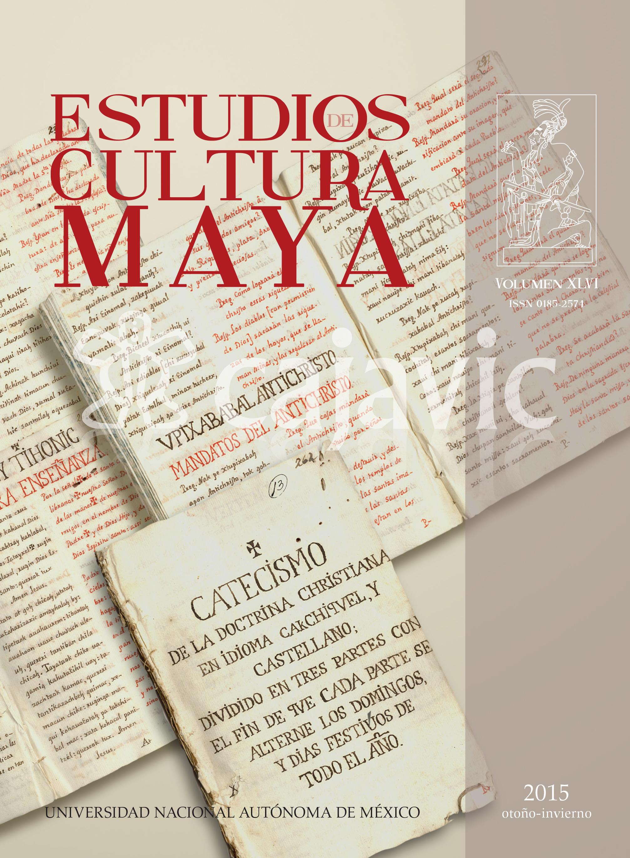 Estudios de Cultura Maya 46