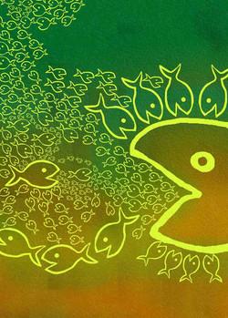 El pez mediano