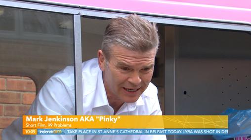 Pinky on IrelandAM TV Show