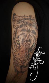Kingz Ink Tattoo Tiger