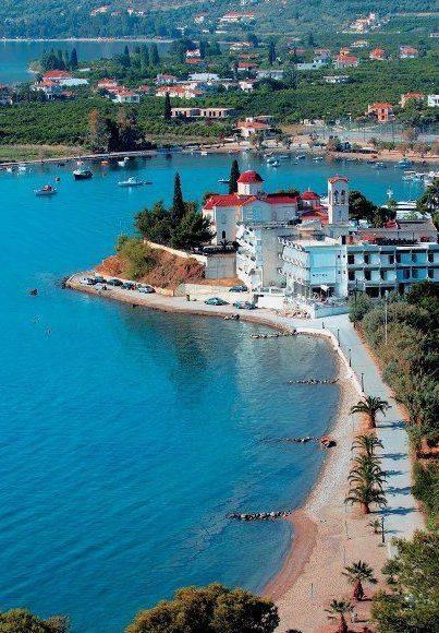 Epidavros 臨近海邊,風景怡人