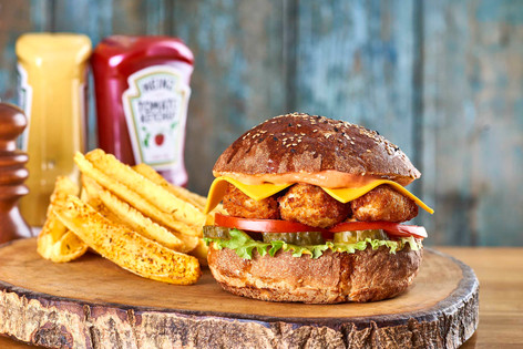 Oxtail Burger - menü fotoğraf çekimi fiyatı