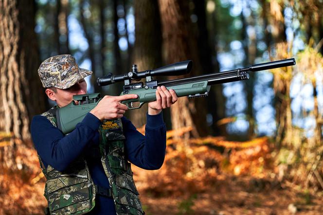 Voltran Av Silahları dış mekan fotoğraf çekimleri...
