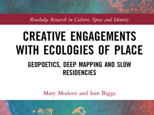 Book launch for 'Creative Engagements with Ecologies of Place'   29 April 2021
