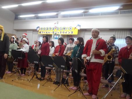 交流プラザさくら「クリスマスわくわくコンサート」で演奏しました♪