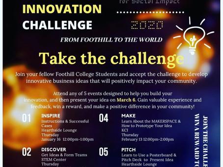 Business Innovation Challenge 2020「Inspire」プレゼンターに選ばれました。