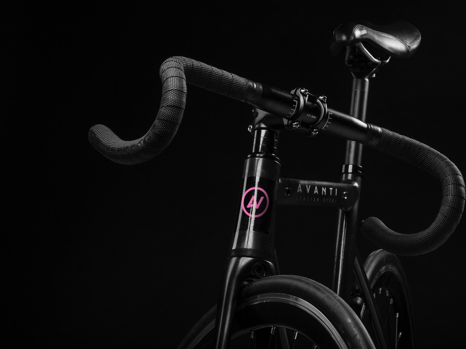 Avanti Cycling branding identity