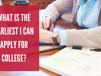 What Is The Earliest I Can Apply For College?