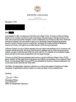 Morrissey College of Arts & Science Boston College