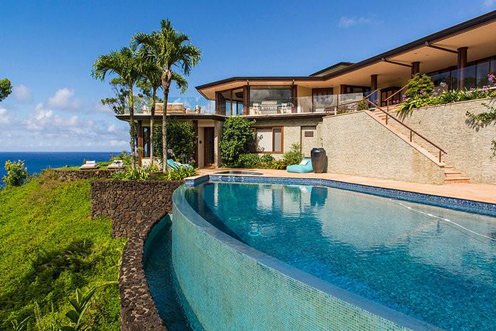 Rent the beautiful villa in Kauai, code 212
