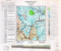 Геологическая карта одного из районов Московской области