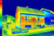 Карта утечек тепла в здании