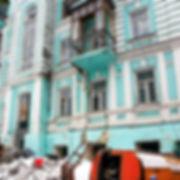 Памятник архитектуры перед реставрацией
