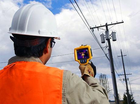 Обследование линиии электропередач