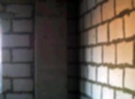 Угол кладки стены