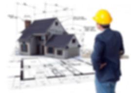 Визуальное сравнение здания с проектной документацией