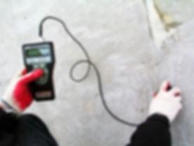Измерение влажности бетона