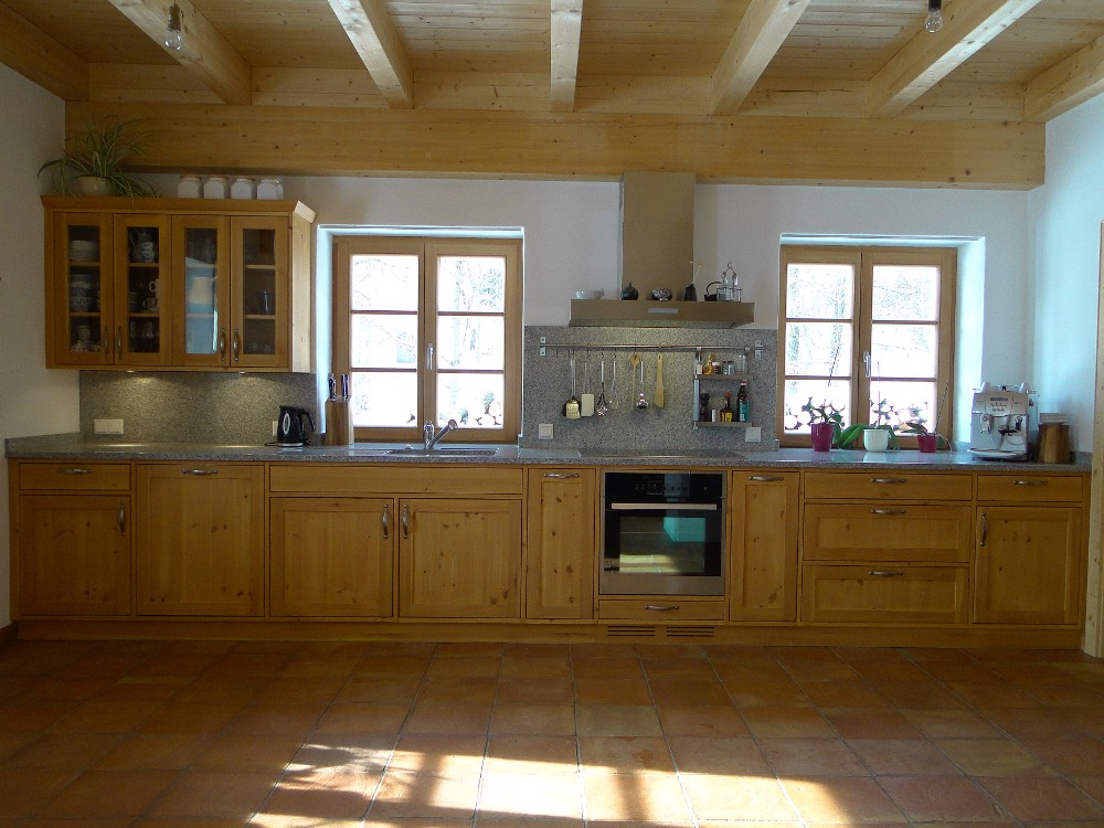 Küche Kiefer, Granit | schreinerei2013