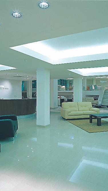 Showroom Reception Area