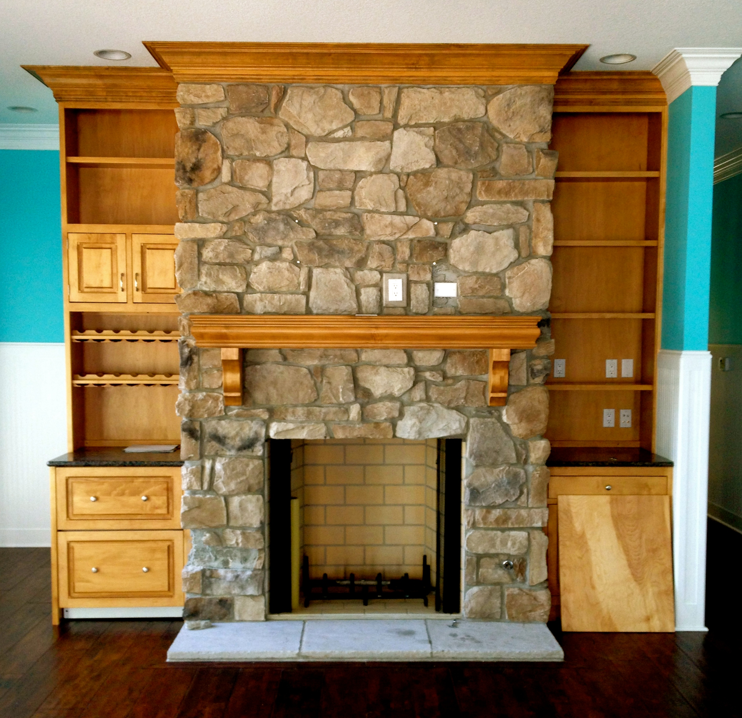 Custom SauderBuilt Fireplace