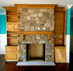 Custom SauderBuilt Fireplace