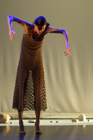 Performing in Dream Report choreographed by Allyson Green