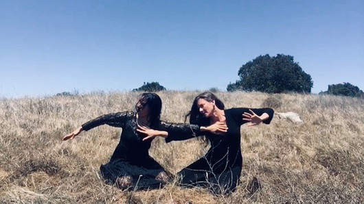 A still from Wind, a dance for the camera with Centehua Sage