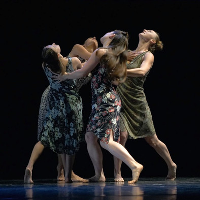 Circling: Message in the Roots. A quartet for four women. Vanessa Tipon, Veronica Martin, Allison Risdon, and Sadie Weinberg.