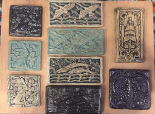 Marine Building Tile Series