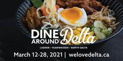 Dine Around Delta Highway Banner