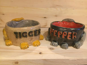 Tigger and Pepper Bowl