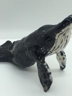 Ceramic Humpback Whale - Small