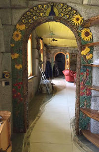 Archway in Anderson Lake House