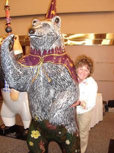 Merlin the Spirit Bear Public Art