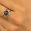 Thumbnail: Bague Océane bleue