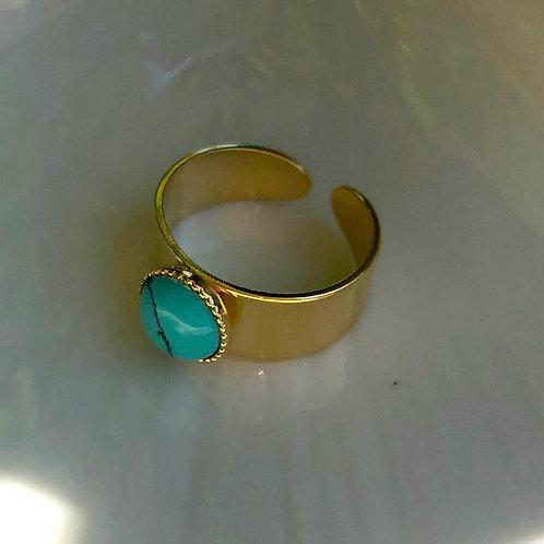 Bague Agathe Turquoise