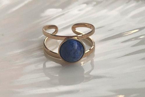Bague Océane bleue