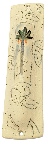 """Palm Tree on sand""  Mezuzah 16117M"