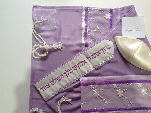 Kippah Talit and Tallit Case-0tw102