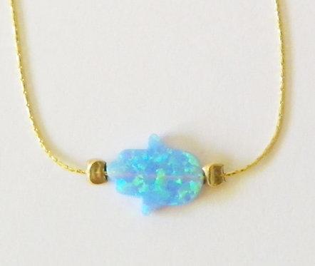 Hamsa Bracelet Goldfill Chain - 8C05398G