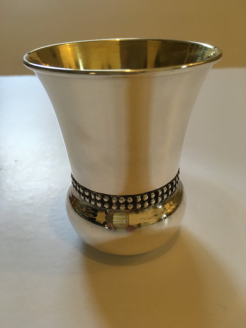 Silver Kiddush wine cup - 180035 8 s'm