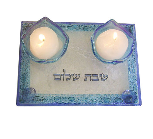 Shabbat candlesticks 5677B