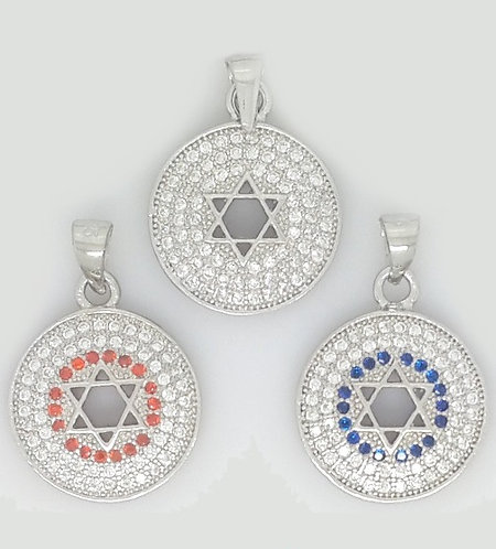 Star Of David Pendant - 8B6949