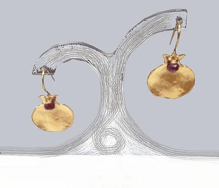 Pomegranate earings - 17E1980
