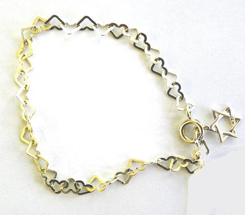 Heart Bracelet - 8B022