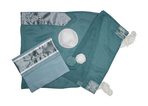 Kippah and Tallit Set -OTO60