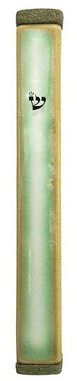 Antique Green mezuzah 1613971-1