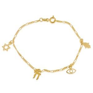 Gold Plated Bracelet - 8BC05655