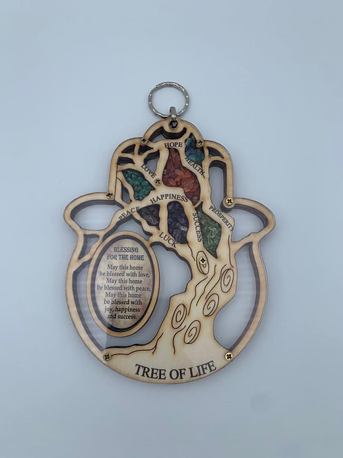 The tree of life Hamsa home Blessing  121158