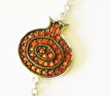 Pomegranate bracelet 8B5086 RED